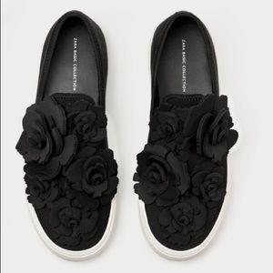Zara Rosette Sneakers NWOT